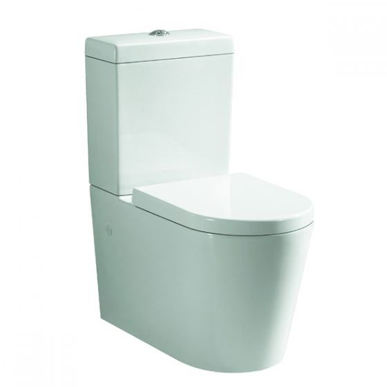 Cube Curved Toilet Suite