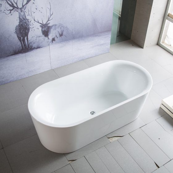 Galaxy Oval Bath in Bathroom