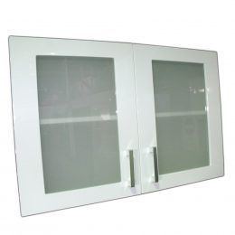 WU80 Glass Doors – Gloss White