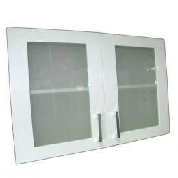WU80 Glass Doors – Gloss White