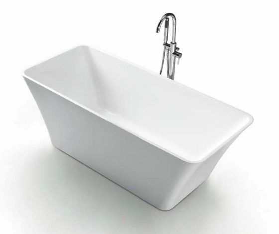 Mirage Freestanding Bath with Mixer