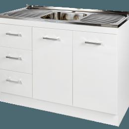 Kitchenette Sink & Cabinet LHD