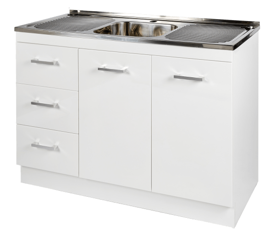 Kitchenette Sink & Cabinet LHD