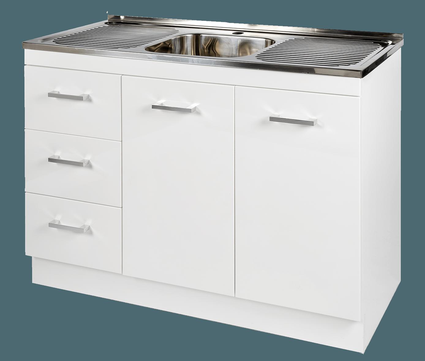 Kitchen Cabinet Perth: Kitchenette Sink & Cabinet LHD