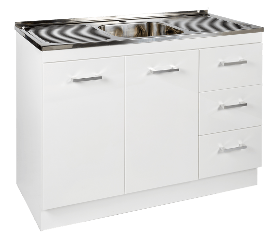 Kitchenette Sink & Cabinet RHD