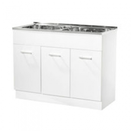 90 Ltr Double Bowl Laundry Unit