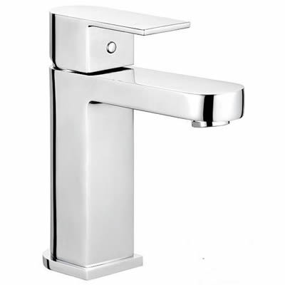 Cube Curved Basin Mixer