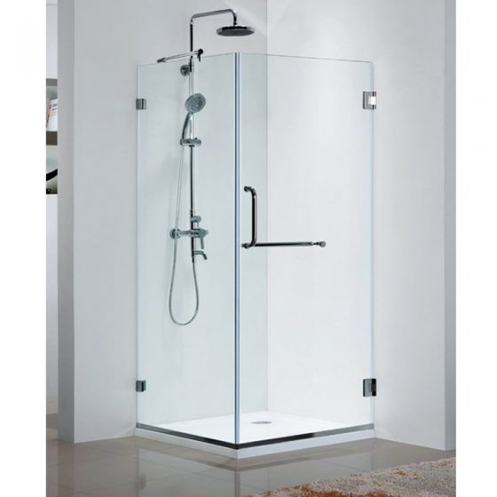 Frame-less Shower