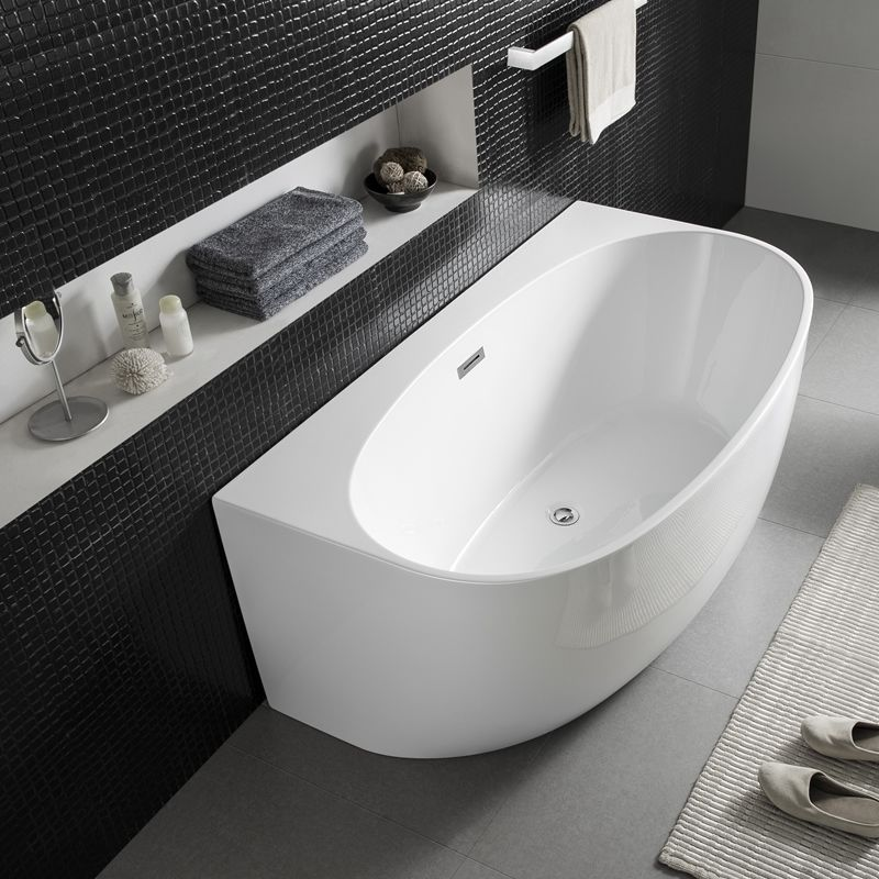 Morocco Back To The Wall Free Standing Bath 150cm