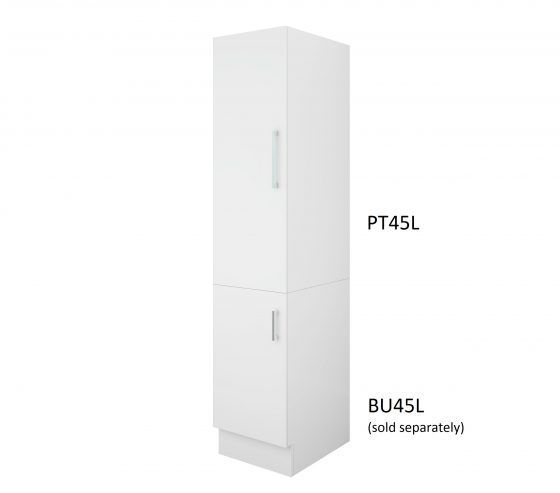Pantry Topper 45cm Left Hand Hinge with Base Cabinet
