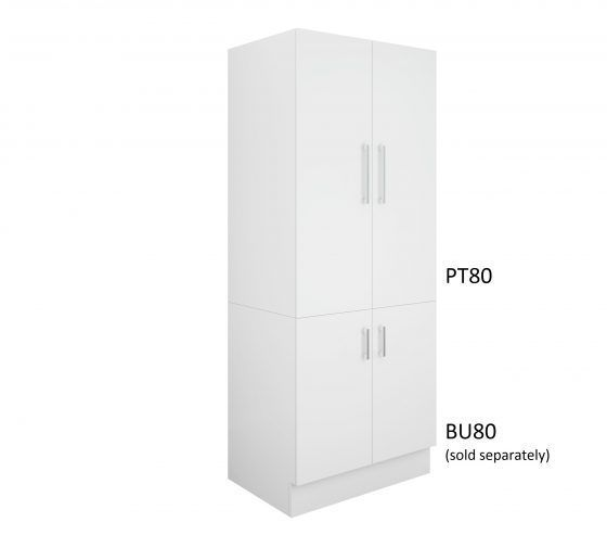 Pantry Topper 80cm - Base Cabinet