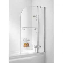 Curved Double Panel with Towel Rail