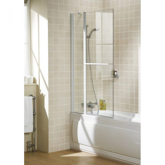 Square Double Panel with Towel Rail