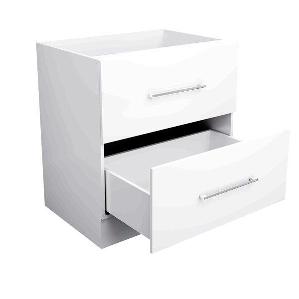 Base Two(2) Drawer Pot Drawer 80cm - Toilets Perth