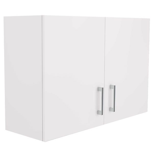 Wall Cupboard Double Door 90cm Kitchen Cabinets Perth
