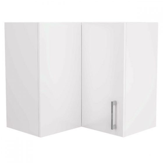 Corner Wall Cupboard 60cm Right-Hand Hinged
