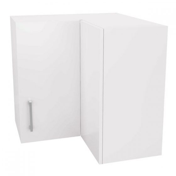 Corner Wall Cupboard 60cm Double Action Door Right Hand Hinged