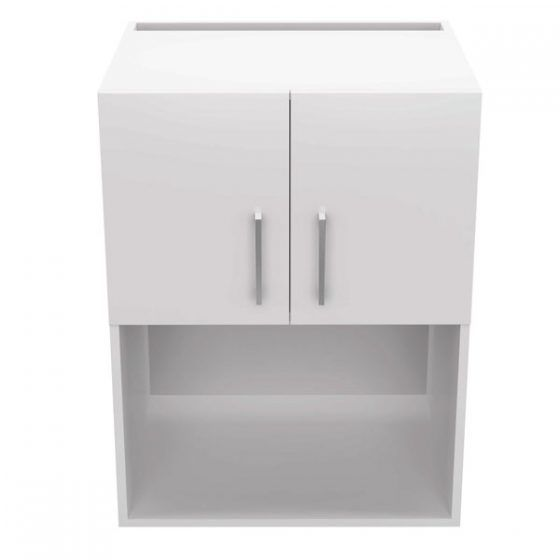 Wall Cupboard Microwave Hutch 60cm - Front