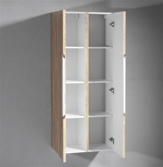 Belford Vanity - Side cabinet open