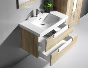 Belford Vanity - Drawers Open