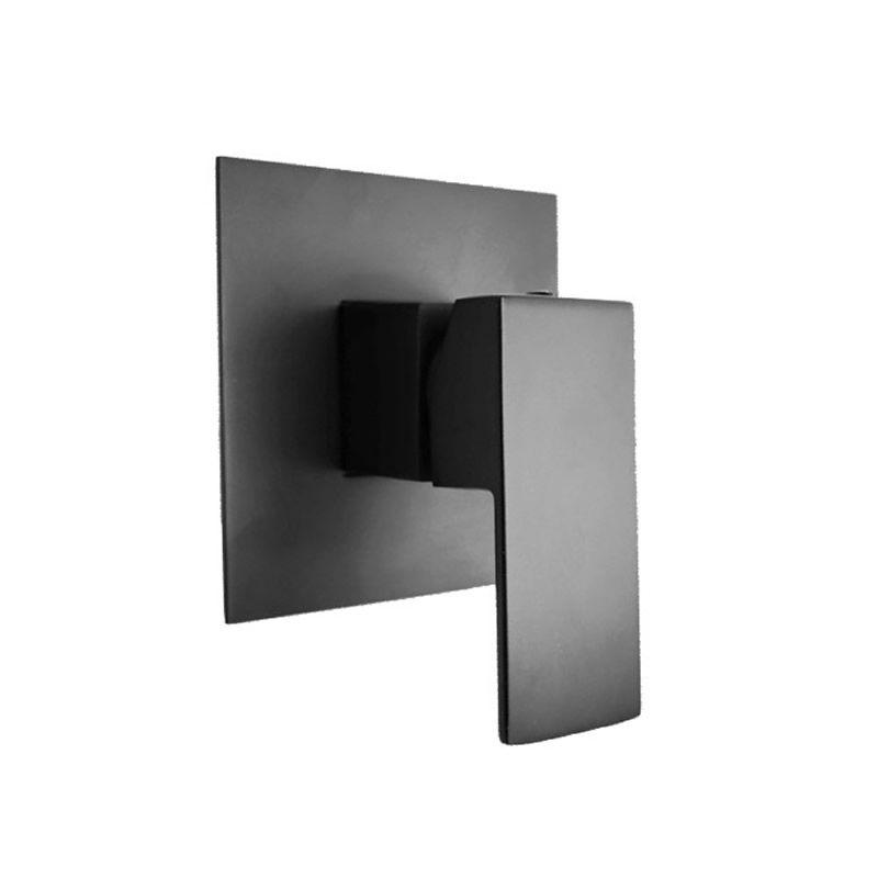 Cube Shower Mixer Black - Bathroom Tapware Perth - Alpine ...
