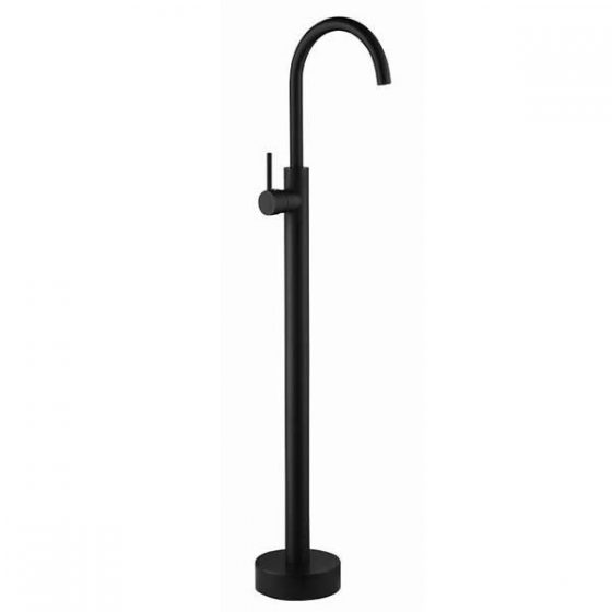 Fiona Freestanding Bath Mixer - Black