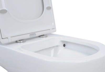 Peak Rimless Toilet Suite