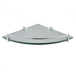 Round Corner Glass Shelf
