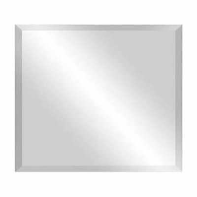 Bevel Edge Wall Mirror 90x75cm