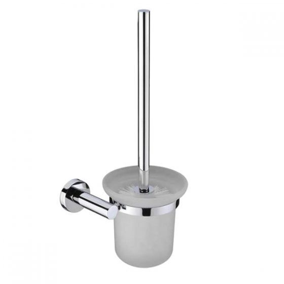 Round Toilet Brush and Holder