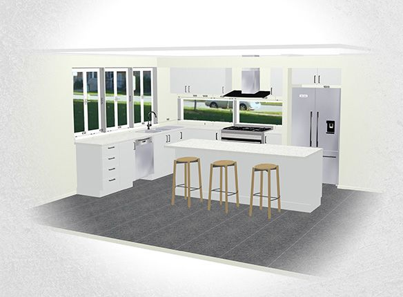 3D Kitchen Planner - Alpine Building Products