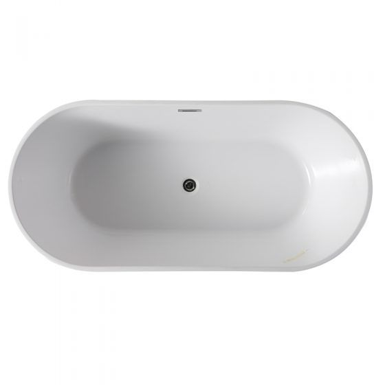 Galaxy Oval Freestanding Bath - Top View