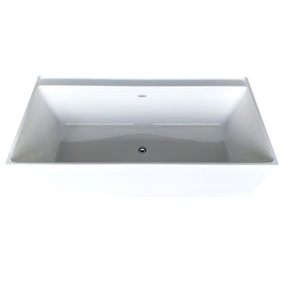 Cube Corner Bath - Top View