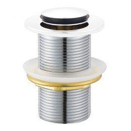 32mm Pop-Up Waste No Overflow WHITE