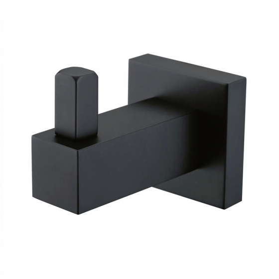 Black Square Robe Hook