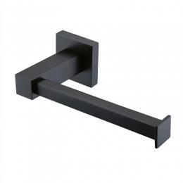Black Square Series 2 Toilet Roll Holder