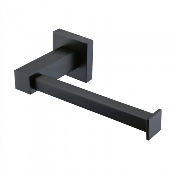 Black Square Series 2 Toilet Roll Holder