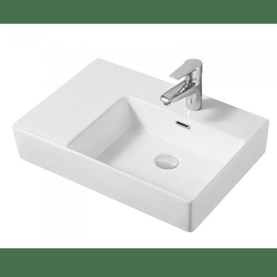 Cube Wall Basin (Right Hand Bowl)