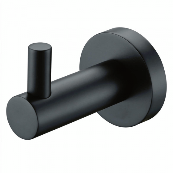 Black Fiona Robe Hook
