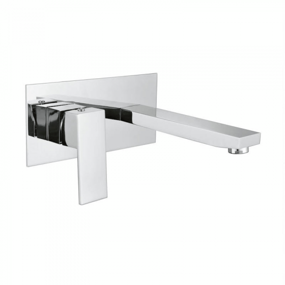 Cube Wall Basin Set