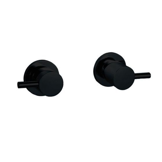 Fiona ¼ Turn Wall Assemblies Black