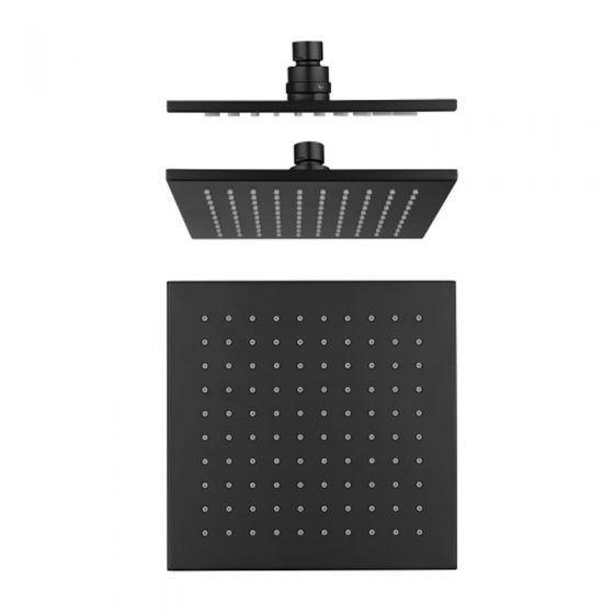 Cube Black Shower Head
